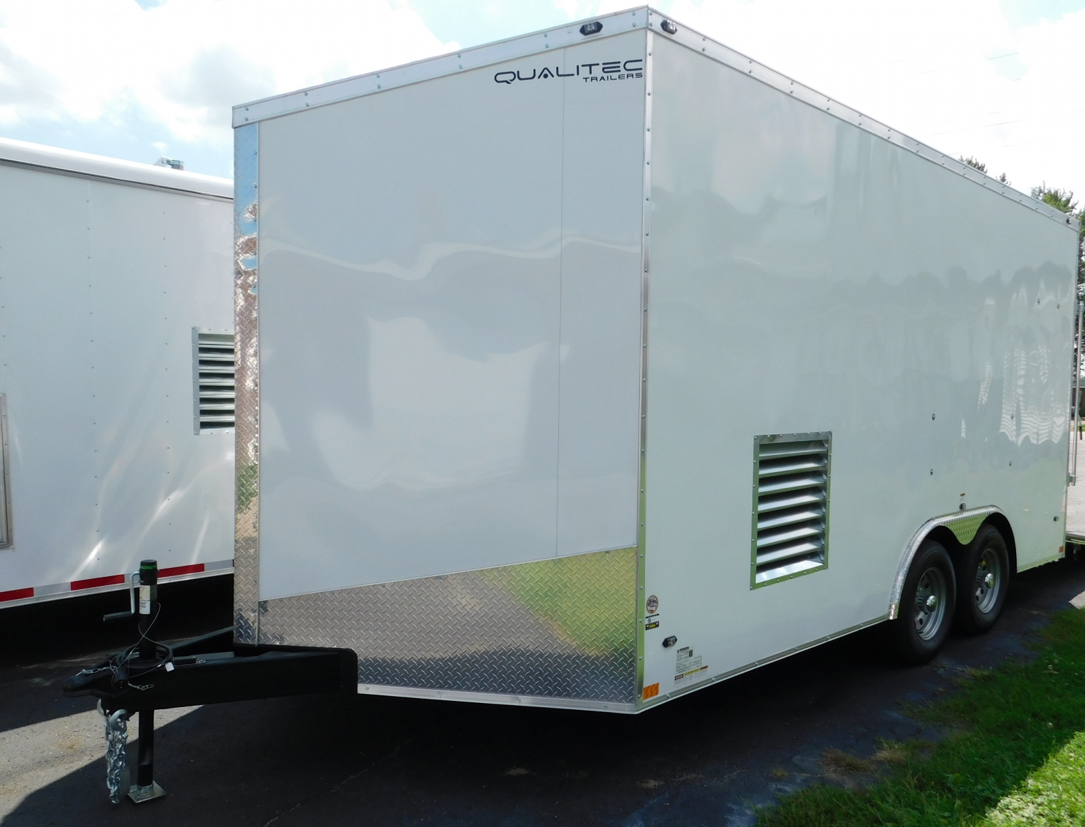 Residential spray foam trailer