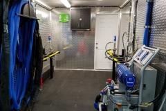 Residential spray foam rig