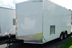 Residential spray foam trailer