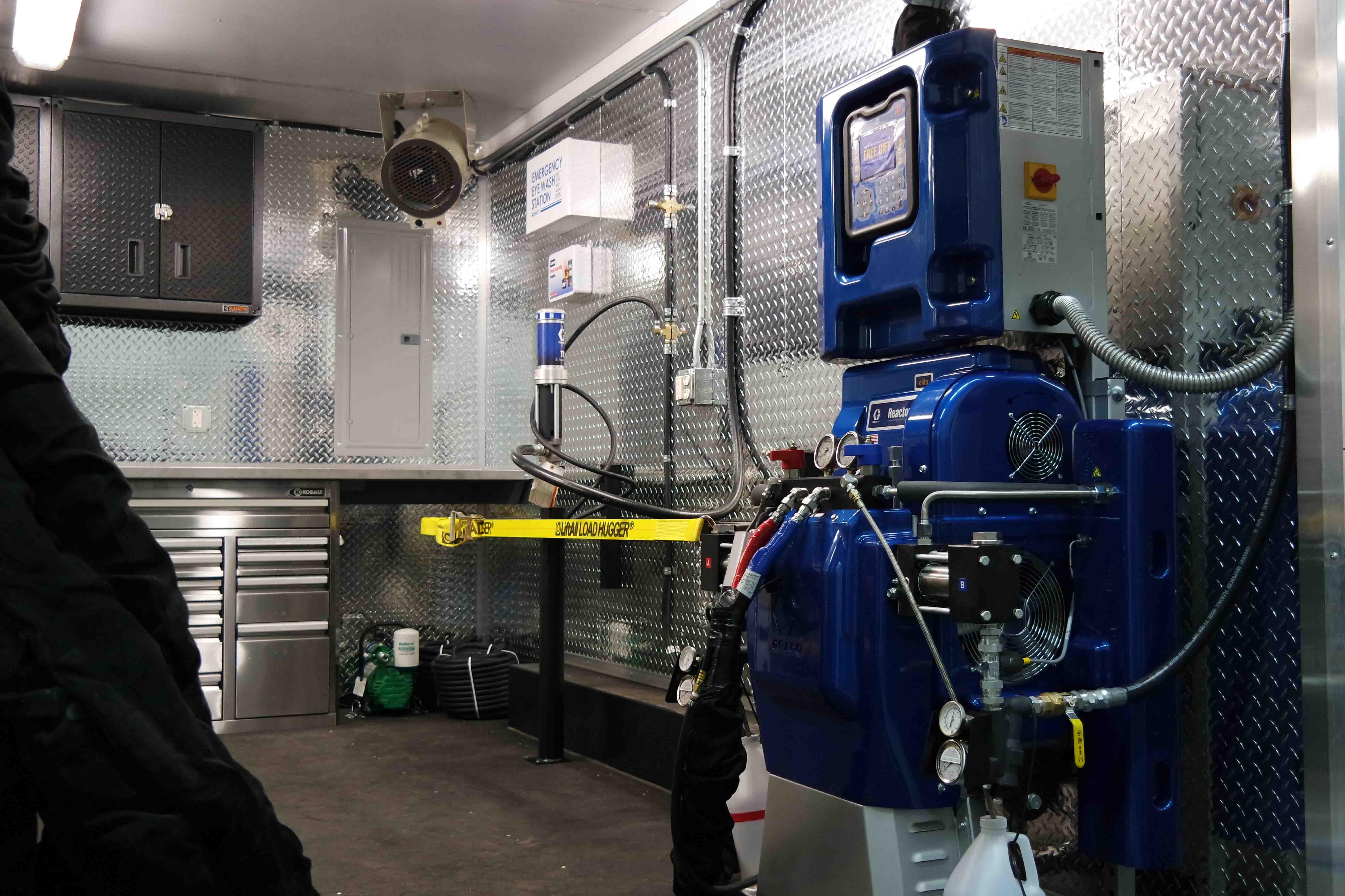 Spray Foam Rig, Spray Foam Box Truck, Spray Foam Trailer