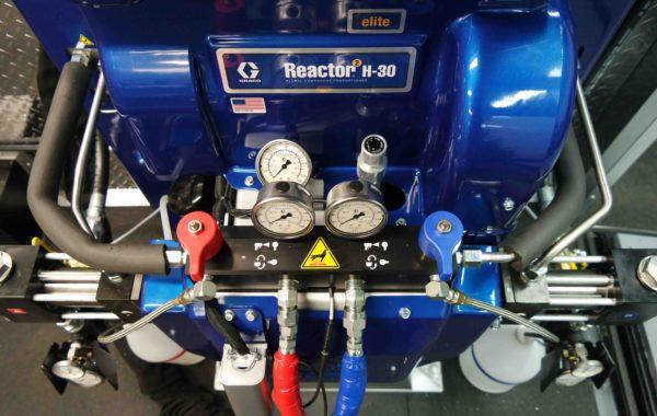 Graco Spray Foam Equipment, Graco Reactor 2, Spray Foam Machine