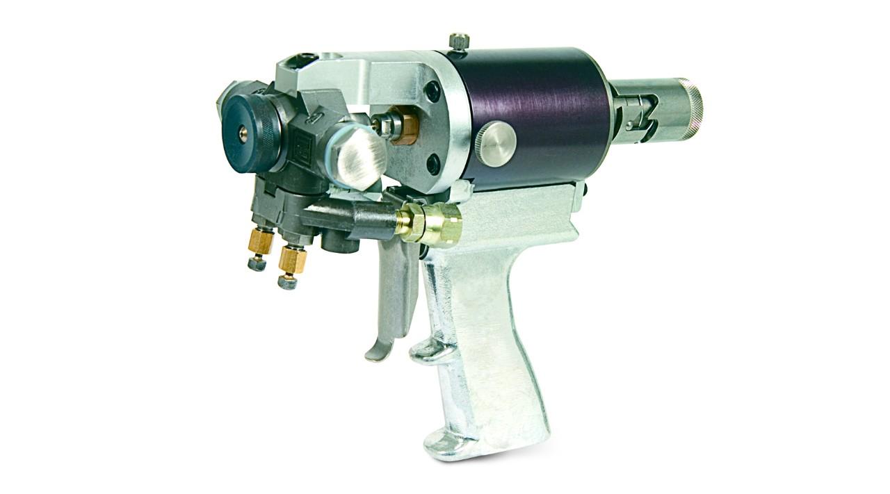 how to clean pro 14 spray foam gun