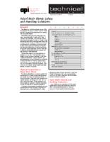 12 AX228 Polyol Resin Blend Handling Safety