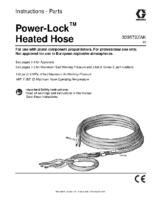 309572ZAK – Power-Lock Heated Hose, Instructions-Parts, (English)