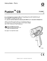 312666T – Fusion CS Spray Gun, Instructions-Parts, English