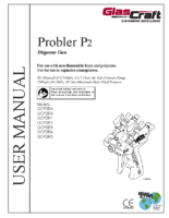 313213Y, Probler P2, Dispense Gun, Operation, Parts, (English)