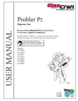 313213Y, Probler P2, Dispense Gun, Operation, Parts, (English)