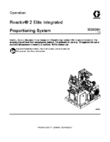 332636H, Reactor 2 Elite Integrated Proportioning System Operation (English)