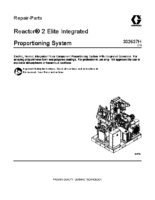 332637H, Reactor 2 Elite Integrated Proportioning System Repair, Parts (English)