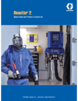 Reactor 2 Spray Foam and Polyurea Equipment brochure