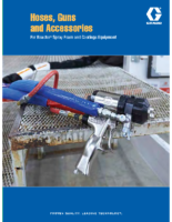 349104EN-C, Hoses, Guns and Accessories for Reactor