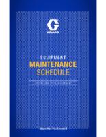 349435EN-A, Reactor Maintenance Schedule
