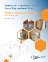 Ventilation for Spray Foam Applications