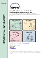SPFA-112 – Aug 2015_ResidentialBuildingEnvelopeInsulationJobconsiderations