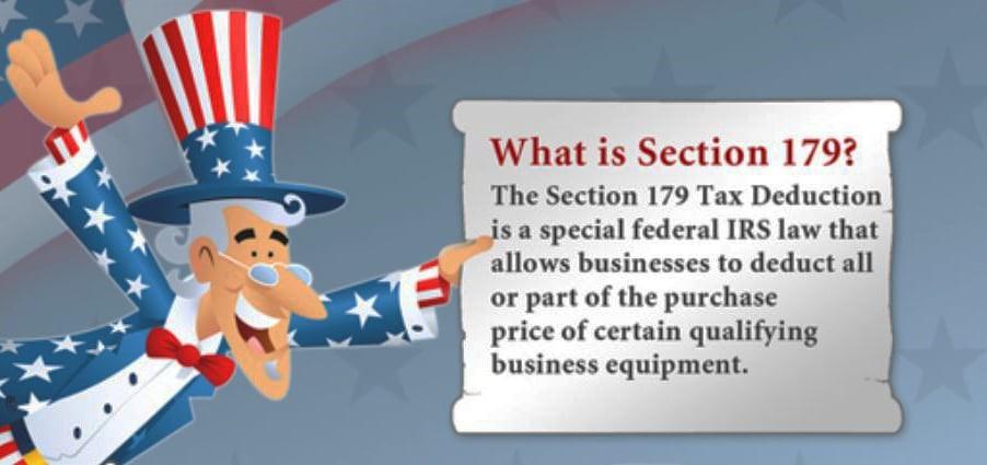 Section 179 Spray Foam Equipment Depreciation